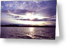 Loch Raven Sunrise Greeting Card