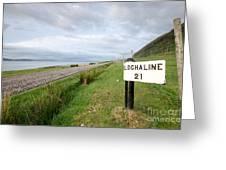Lochaline This Way Greeting Card