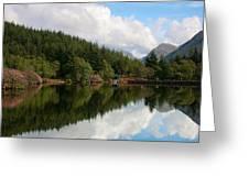 Lochan Glencoe Greeting Card
