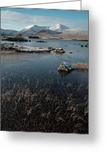 Lochan Nah-achlaise, Rannoch Moor, Scotland Greeting Card
