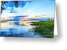 Lochloosa Lake Greeting Card