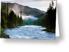 Lochsa River Greeting Card