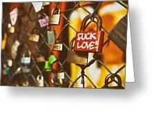 Lock Greeting Card