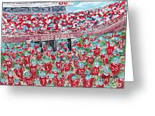Lock The Vaught Greeting Card