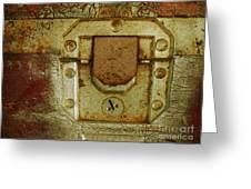Locked Greeting Card