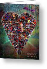 Locket Heart-4 Greeting Card
