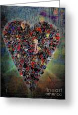 Locket Heart-6 Greeting Card