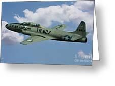 Lockheed F-80  Greeting Card