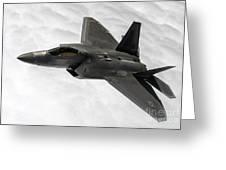 Lockheed Martin F-22 Raptor, 2015 Greeting Card