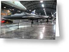Lockheed Yf-12a Greeting Card