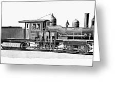 Locomotive, 1893 Greeting Card
