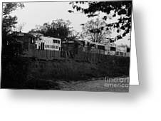 Locomotive 8241 Greeting Card