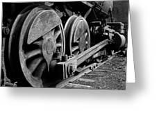Locomotive Greeting Card by Joe Bonita