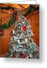 Lodge Lobby Tree Greeting Card