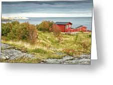 Lofoten Cabins 2 Greeting Card