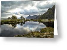 Lofoten Reflections Greeting Card