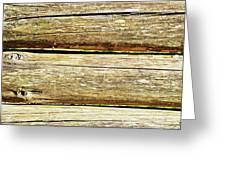 Log Files Greeting Card