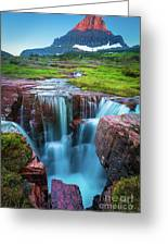 Logan Pass Abyss Greeting Card