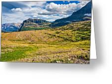 Logan Pass Panorama Greeting Card