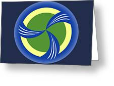 logo for TRAG Greeting Card