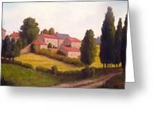Loire Valley Apres Midi Greeting Card