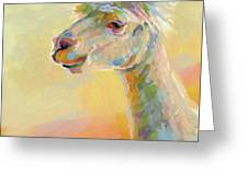 Lolly Llama Greeting Card
