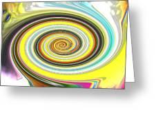 Lollypop Swirl  Greeting Card
