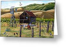 Lompa Valley Ranch Greeting Card