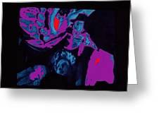 Lon Chaney Phantom Of The Opera 3 Publicity Photo 1925-2011 Greeting Card