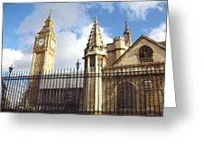 London - Big Ben  Greeting Card