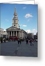 London - Sunny Day Greeting Card