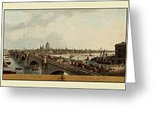 London 1802 Greeting Card