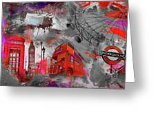 London Art 56 Greeting Card