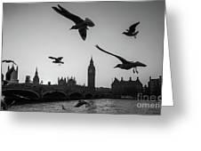 London, Big Ben  Greeting Card