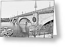 London Bridge Lake Havasu City Arizona Greeting Card