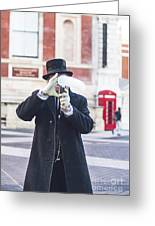 London Bubbles 3 Greeting Card