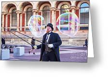 London Bubbles 4 Greeting Card