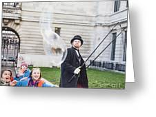 London Bubbles 6 Greeting Card