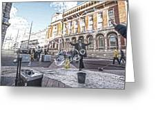 London Bubbles 8 Greeting Card