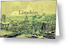 London Calling You Back Greeting Card