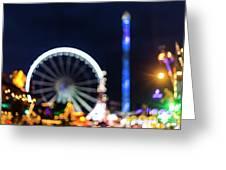 London Christmas Markets 12 Greeting Card