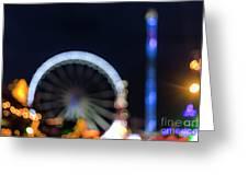 London Christmas Markets 13 Greeting Card