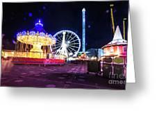 London Christmas Markets 20 Greeting Card