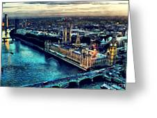 London City Greeting Card