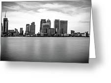 London Docklands Greeting Card