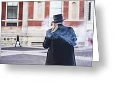 London Explosion Greeting Card