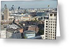 London Eye View- 2 Greeting Card