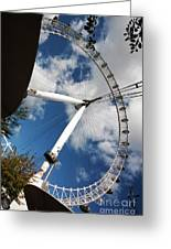London Ferris Wheel Greeting Card