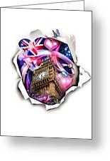 ''london'' Greeting Card