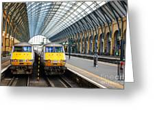 London King's Cross Station 1 Greeting Card